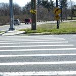 Crossing on Glen Cove Road