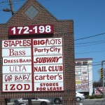 Strip Mall Signs