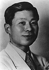 Younghill Kang. Photo from the Smithsonian Institution.