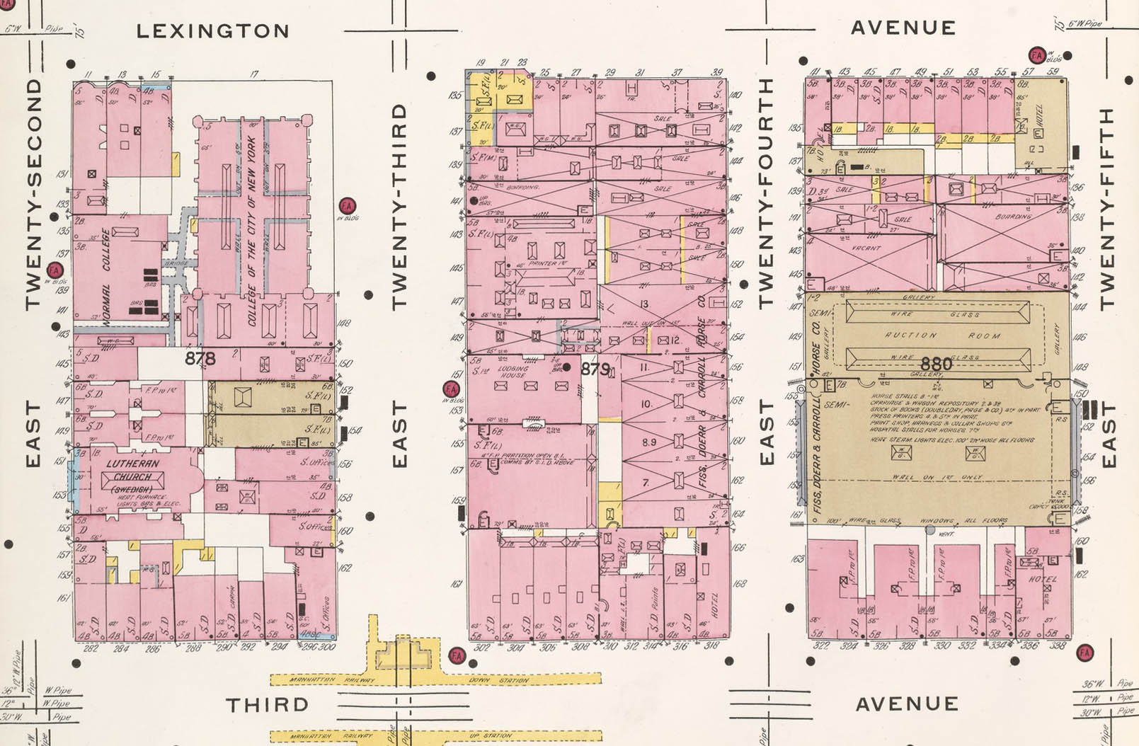 baruch college campus map Baruch College Then And Now 155 East 24th Street Baruch College baruch college campus map