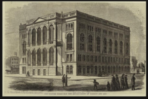 Cooper Union for the Advancement of Science and Art, 1861 New York Public Library