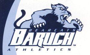 Baruch Bearcats Athletic logo.