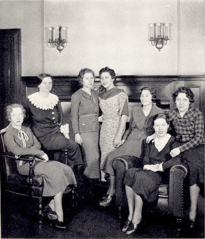 Girls' Club, Lexington, 1935