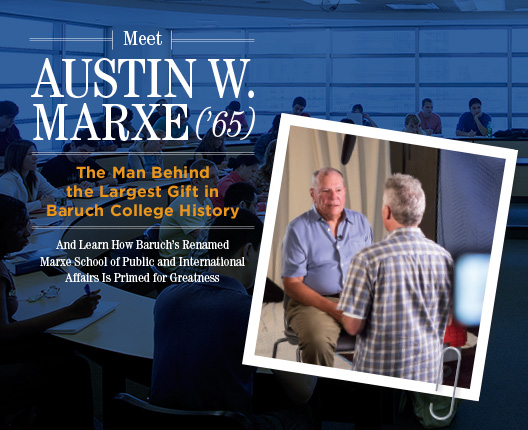 Meet Austin W. Marxe