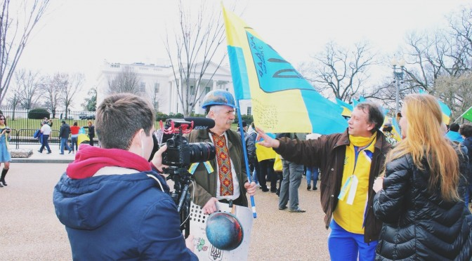 Ukrainian Rally in Washington D.C