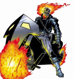 Ghost Rider. Photo courtesy of Marvel Characters Inc.