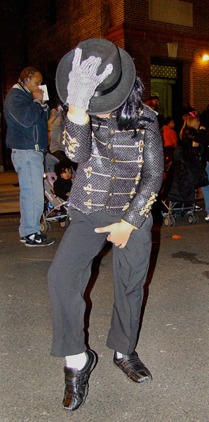 Dee Brian, 6 years old, struts his inner Michael Jackson.