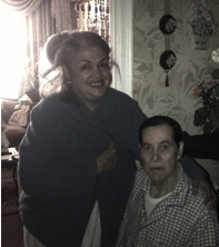Alma Cruz and her husband, William Ovalles, at their home in the Bronx. Photo by Jesus Izarra