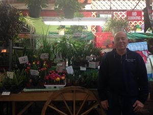 Richard Liberatore owns a flower shop, passed down from his father, on Arthur Avenue. Photo by Kerry Mack