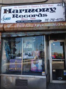 Harmony Records is located at 1625 Unionport Road in the Bronx. Photo by Earl Mays.