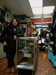 Luca Cabrera co-owns a traditional Spanish tattoo parlor, once her party supply store.