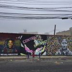 The Welling Court Mural Project brings art to an industrial corner of Astoria.