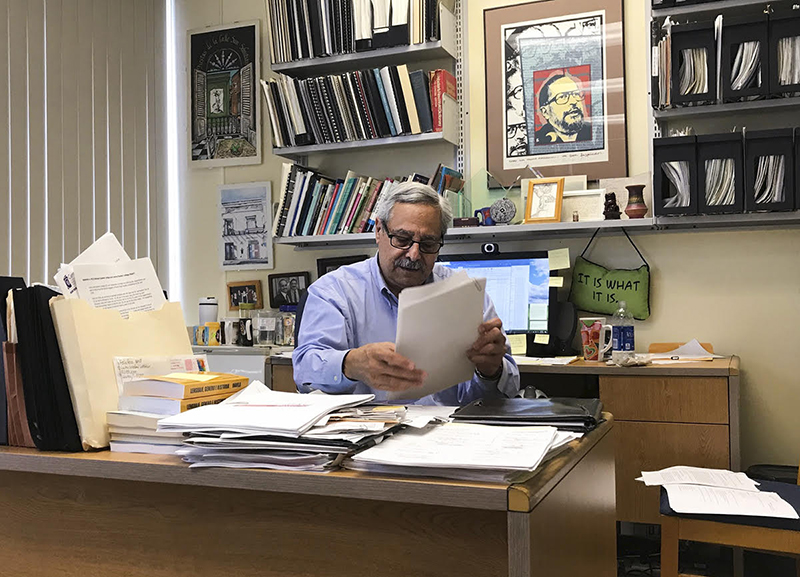 Dr. Edwin Melendez, director of Hunter College's Centro de Puerto Rico