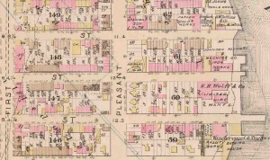Map of Primary School 38, Pleasant Ave (Former Ave. A) and 118th street. Courtesy of NYPL: http://digitalcollections.nypl.org/items/510d47e2-09a6-a3d9-e040-e00a18064a99