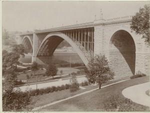 Washington Bridge, 1901. NYPL Digital Collections: http://digitalcollections.nypl.org/items/510d47e1-2391-a3d9-e040-e00a18064a99