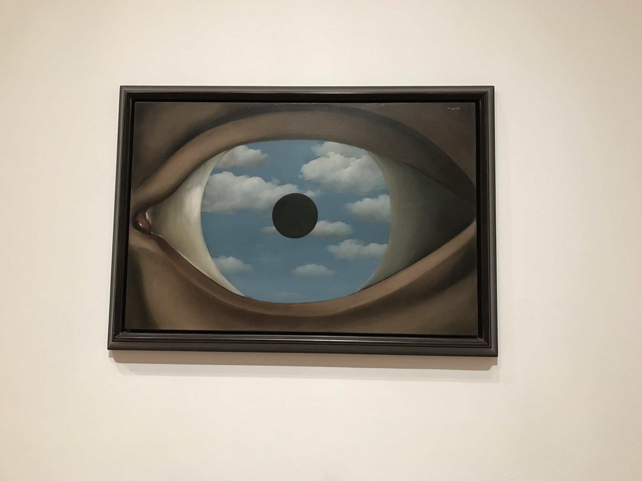 Great works of literature ii a blogs baruch site for Rene magritte le faux miroir