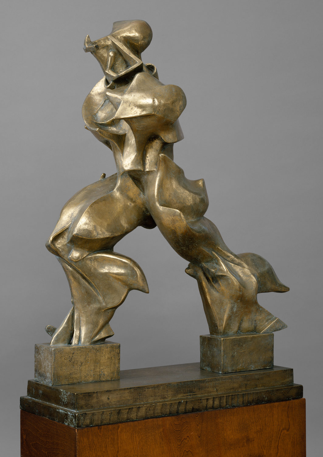 unique forms of continuity in space by umberto boccioni