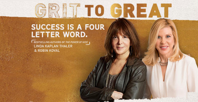 RSVP for Grit to Great book signing!