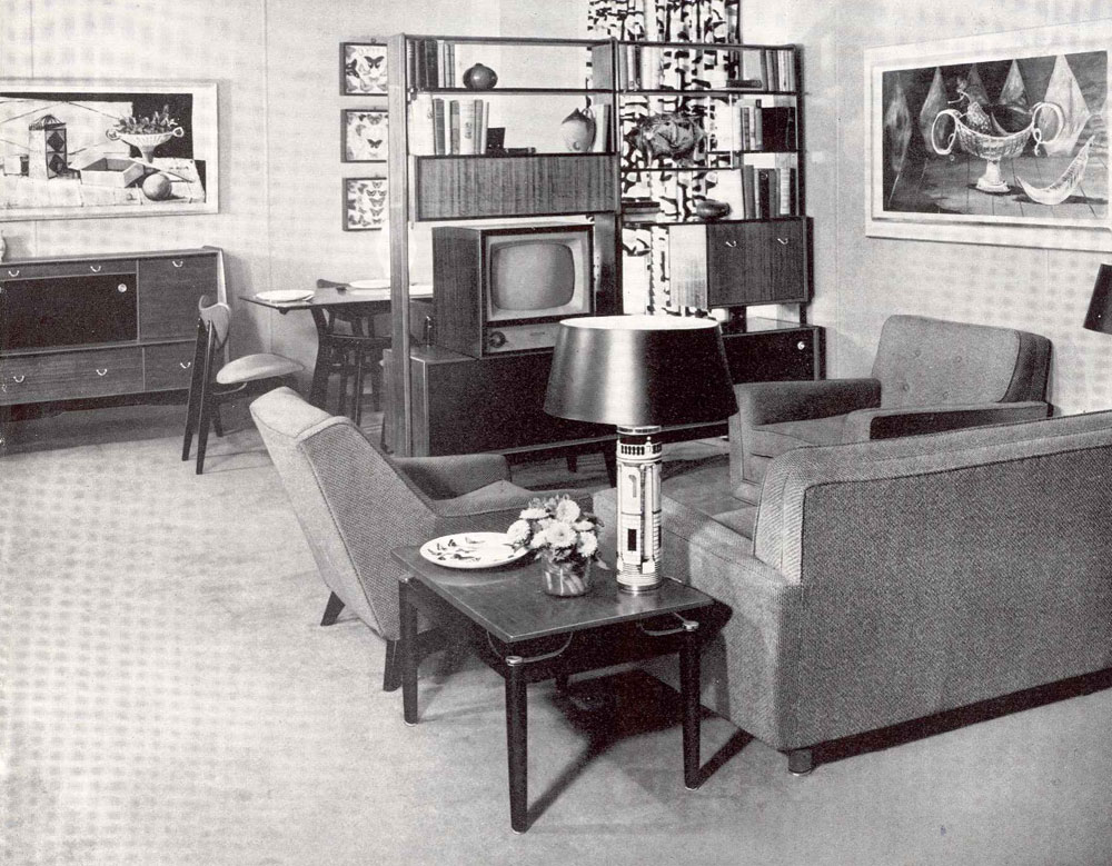Rising standards of living modern american history for Rooms to go 1960