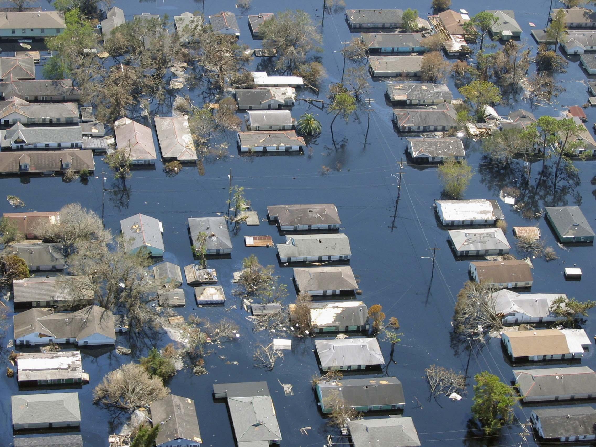 Hurricane Katrina Flooding New Orleans