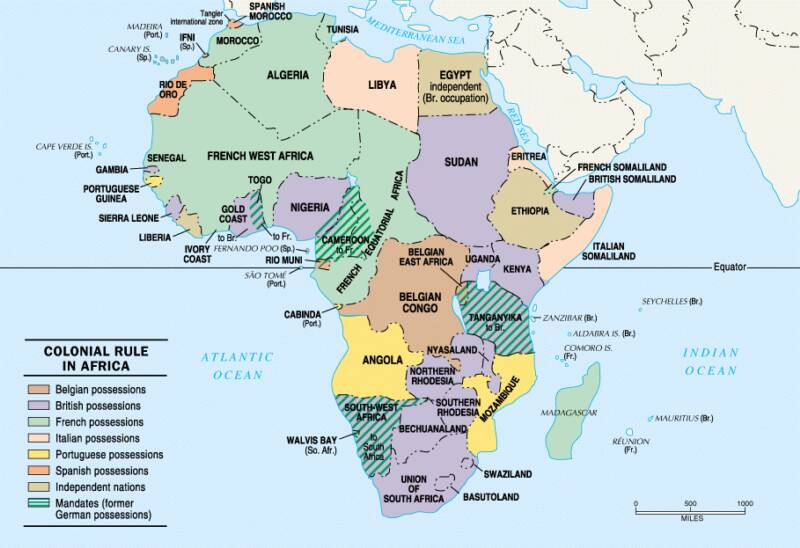 South Africa Colonial Colonies in South Africa