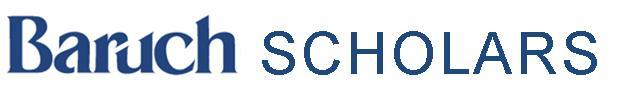 Baruch Scholars
