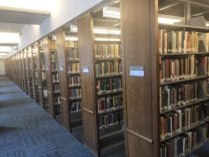Newman Library Book Stacks