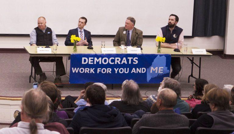 Maine Democrats Take On Elusive Republican Incumbent