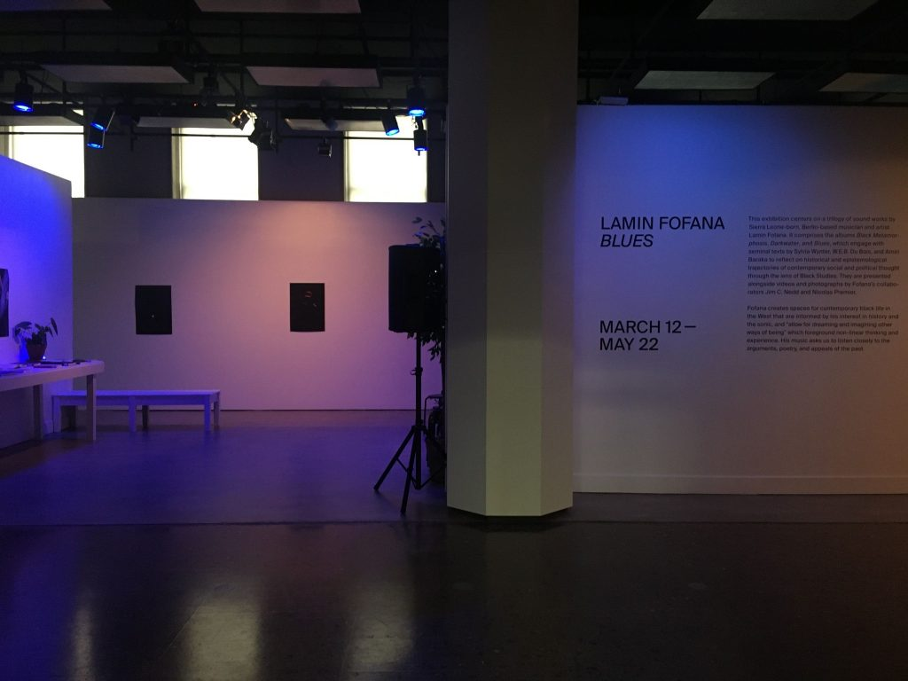 BLUES Installation view, 2020. Courtesy of Mishkin Gallery.