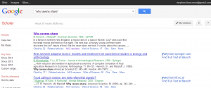 Google Scholar--when there is no find full text at Baruch link