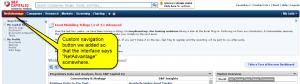 S&P NetAdvantage--new interface--custom nav button