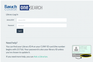 OneSearch--new login page--1 September 2016