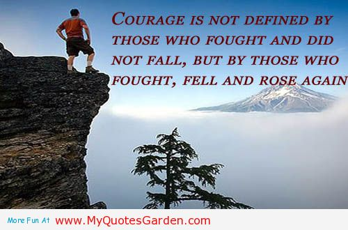 adversity and overcoming it with faith and courage world of quotesQuotes On Courage And Faith