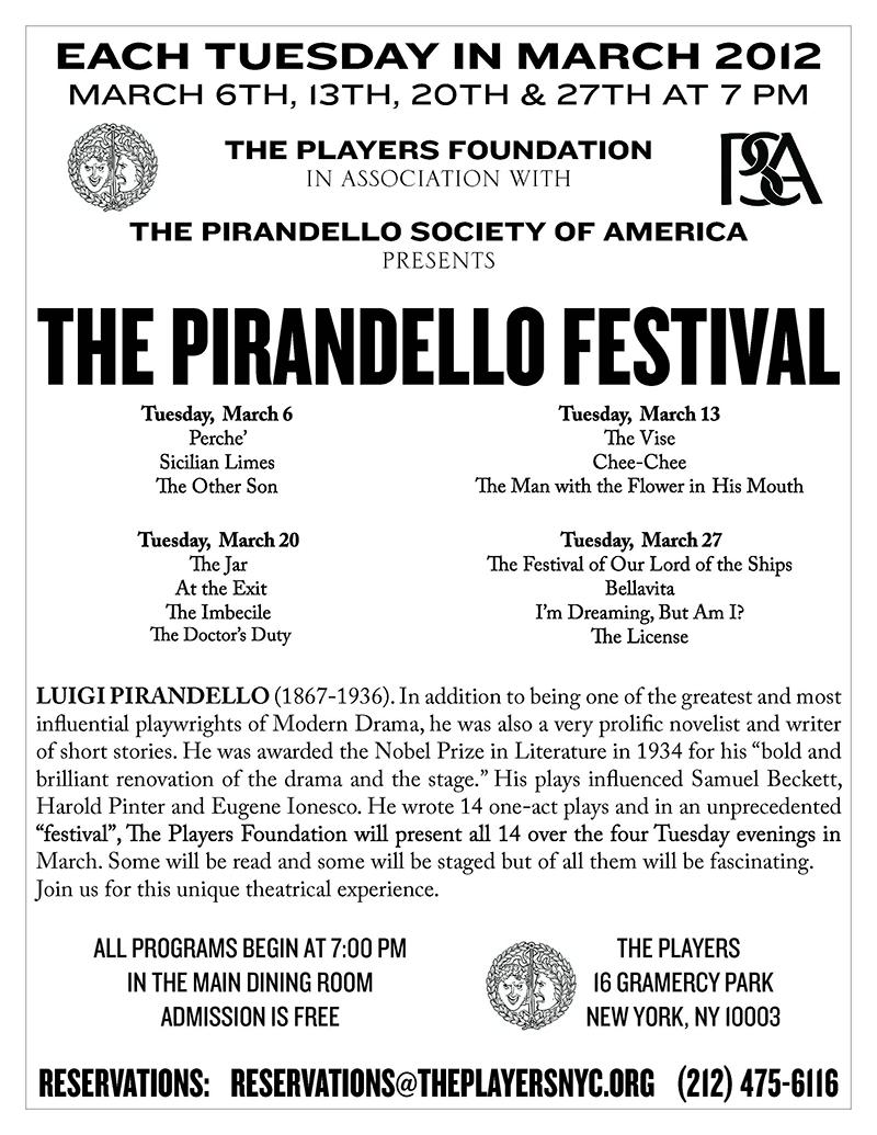 similarities between pirandello and beckett