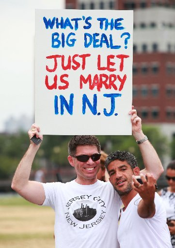 New jersey same sex marriage
