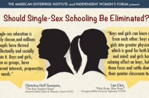 from Jayson cons of single sex schools