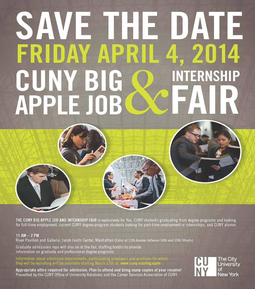 CUNY Big Apple Job Fair