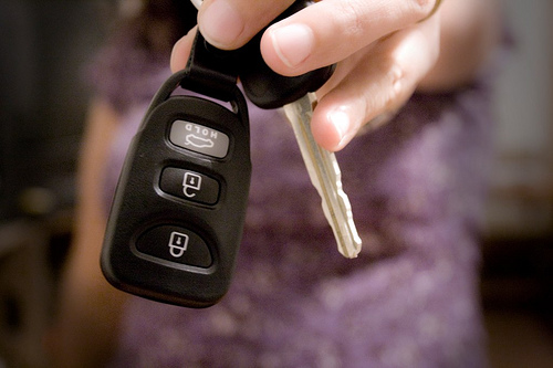 Acquiring car keys – via Caitlin