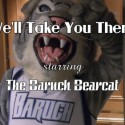 The Bearcat has a strange day at the Weissman Center for International Business...