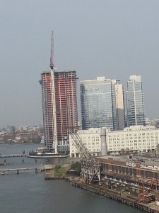 New housing being developed on the waterfront of South Williamsburg.